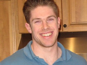 Photo of Michael Babinsky, who took his own life a year ago, at age 23.