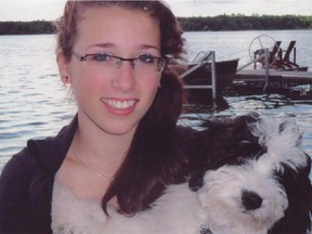 Rehtaeh Parsons is shown in a handout photo from a Facebook tribute page.