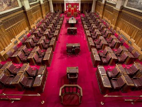 The Senate of Canada was about to consider the wrong version of a bill.