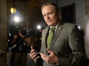 NDP House leader Peter Julian introduced a motion to give the Speaker more power.