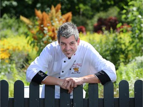Rideau Hall's Executive Chef, Louis Charest, prepares some recipes from the kitchen gardens in preparation for Savour Fall - a tasty event open to the public at Rideau Hall on Sept. 13.