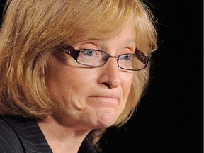 Information Commissioner Suzanne Legault is shown in Ottawa, May 31, 2012.