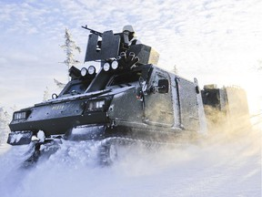 Due to cost-cutting, Canada's special forces shut down a project to buy new vehicles for use in the Arctic and in desert conditions. Here is a photo of the BvS10, one of the vehicles that was to be considered for the project. Photo courtesy of BAE Systems