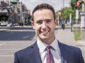 Conor Meade is running in the Somerset ward in the Oct. 27 municipal election.