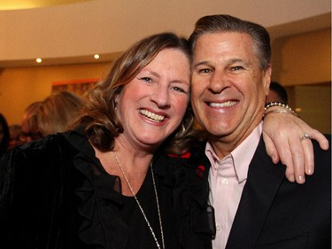 Kathy Turner of K. Turner Transitions with Doug McLarty at Sala San Marco on Saturday, Nov. 8, 2014, for the Italian-themed Mangia! Mangia! gala in support of the Queensway Carleton Hospital and its new Acture Care for the Elderly Unit.