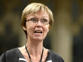 NDP MP Nycole Turmel is one of two NDP members of the  the all-party board of internal economy who voted on a motion regarding how much NDP MPs were to repay over the funding of satellite offices.