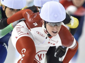 Ottawa's Ivanie Blondin, seen in a file photo, finished sixth in the 5,000 metres at the world championships.