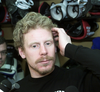 In 2002, Alfie adds a playoff beard and seems almost self-aware of the development of his luscious locks.