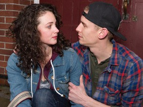 Emma Slipp and Graeme McComb star in Moss Park at the GCTC opening Jan. 20.