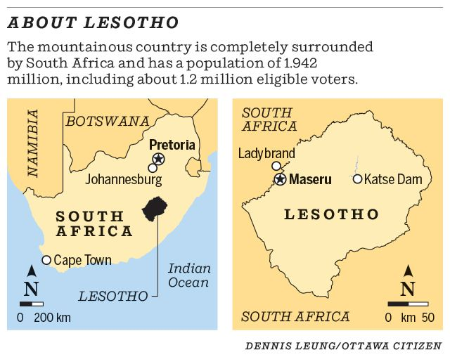 About Lesotho