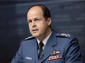 General Tom Lawson, Chief of the Defence Staff.