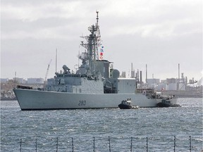 HMCS Iroquois, shown here in 2008, was decommissioned Friday.
