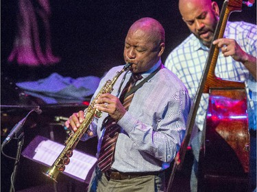Barnford Marsalis and his quartet play at the National Arts Centre Studio on Tuesday, June 23, 2015.
