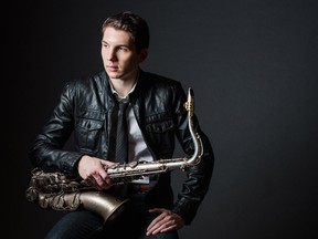 Saxophonist Eli Bennett- who plays the 2015 TD Ottawa Jazz Festival this Friday in Confederation Park.