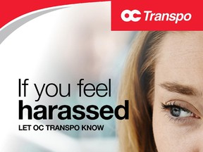 OC Transpo unveils online reporting tool for harassment cases.
