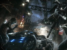 WB Games, from the new game Batman: Arkham Knight for my review 0627 gaming.