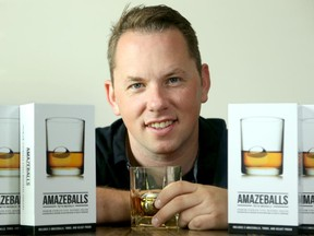 Dan Fallak is the brains behind Amazeballs, stainless steel balls with freezer gel in them to chill drinks fast.