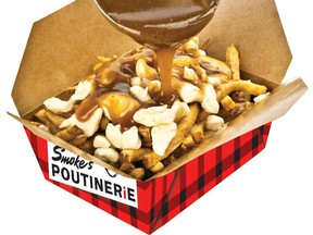 Smoke's Poutinerie is giving away free poutine on Thursday.