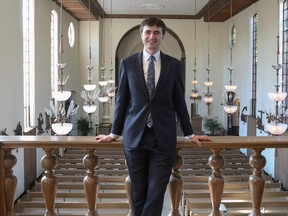 Julian Revie is composer in residence at St. Thomas More Chapel at Yale.