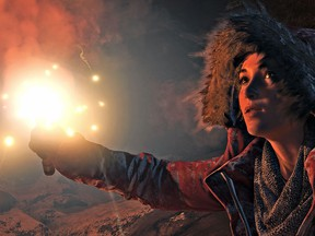 Rise of The Tomb Raider.  handouts from Square Enix.  1114 gaming
