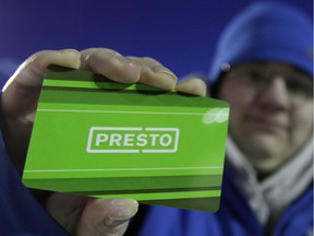 Presto's 2014-2020 strategy contemplates using the smart card system for other services, outside of public transit.
