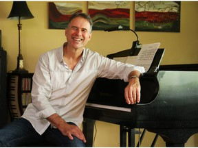 Pianist Mark Ferguson. The veteran Ottawa jazz musician has played on many CDs but at last is putting out his first CD solely under his own name later this month (Jean Levac/ Ottawa Citizen)