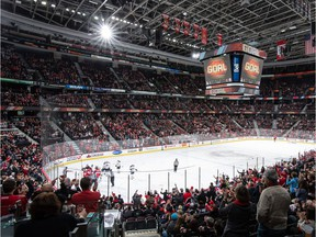 A general view of Canadian Tire Centre.