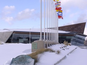 The Canadian War Museum will re-open Wednesday.