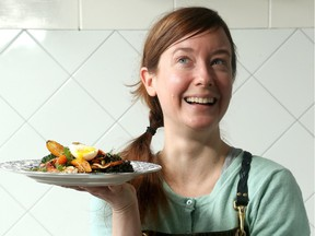Marysol Foucault, owner/chef at Edgar in Gatineau, has created a Spiced Roast Carrot and Freekeh Salad that's exotic and satisfying, and just about $3 per serving.