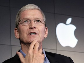 Apple Inc. CEO Tim Cook won't give the FBI what it wants.