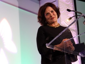 Margaret Trudeau, honorary patron of the Royal Ottawa, shared her story of living with bipolar disorder at the Royal Ottawa Foundation's Inspiration Awards Gala, held at the Delta Ottawa City Centre on Friday, March 4, 2016.