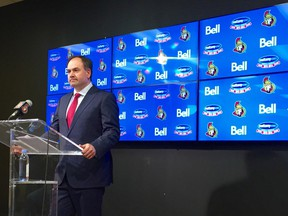 Ottawa Senators coach Dave Cameron has been fired, along with assistants Rick Wamsley and Andre Tourigny