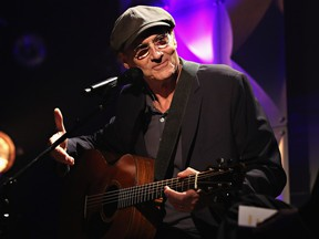 James Taylor, seen in a file photo, was in no hurry to rush through his concert at the CTC, nor was there any desire to show off. His songs stand for themselves, without the need for bombast.