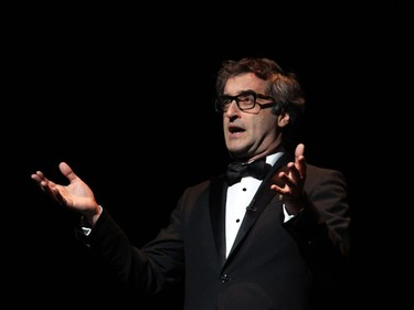 Canadian actor, writer and filmmaker Don McKellar helped pay tribute to his father, John D. McKellar, this year's recipient of the Ramon John Hnatyshyn Award for Voluntarism in the Performing Arts, at the Governor General's Performing Arts Awards Gala, held at the National Arts Centre on Saturday, June 11, 2016.