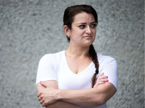 Melanie Gibson, 28, wants to finish her degree, but has too much debt.