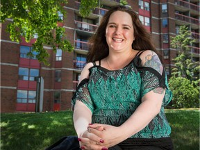 Monica Higgins, 39, says she was 'humiliated' when an Ottawa medical clinic refused her an allergy test because she had once had hepatitis C.