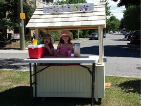 The NCC has agreed to waive its $1,520 permit fee officially required for two young girls to sell lemonade on NCC-owned land along Colonel By Drive.