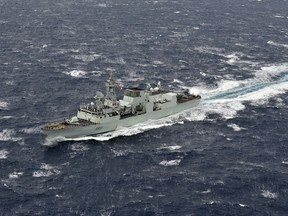 This file photo shows HMCS Charlottetown.