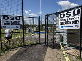City of Ottawa George Nelms Sports Park on Mitch Owens Drive where the Ottawa South United Soccer Club trains and plays. Monday August 8, 2016.