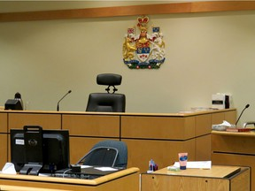 An Ontario Superior Court courtroom.