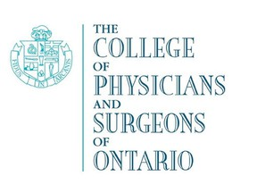 The College of Physicians and Surgeons of Ontario logo.