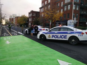 The O'Connor bikeway was officially opened on Tuesday, though cyclists have been using it since Oct. 20.