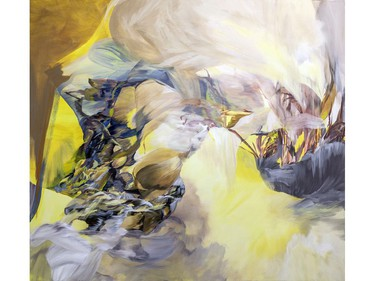 L.A. Flex, by Melanie Authier, part of a solo exhibit of new works at the OAG until Jan. 2.
