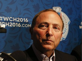Commissioner Gary Bettman says the NHL has started to look at other options outside of Ottawa for an outdoor game.