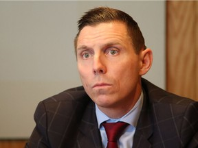 Patrick Brown, leader of the Progressive Conservative Party of Ontario, at the Ottawa Citizen's editorial board on November 23, 2016.