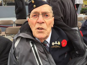 Ray Newell, 94, was an RCAF pilot who served as a training instructor during the Second World War.