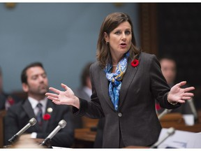 Quebec Justice Minister Stephanie Vallee has announced a public inquiry into protecting the freedom of the press.
