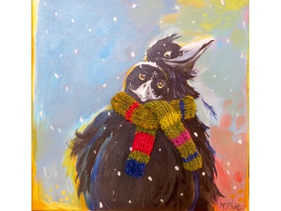 The La Fab Christmas Art and artisan show runs to Jan. 8.