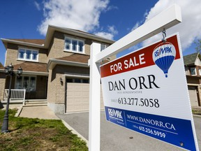 Nearly 1,500 single family homes were sold in Ottawa in April, nearing a record for the resale market.
