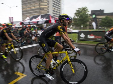 The 2017 Global Relay Canadian Road Cycling Championships held its Elite/U23 Men's road race Sunday, June 25, 2017. The race was suspended as a strong thunder storm passed the area.